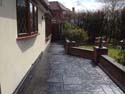 Cobble Print patios